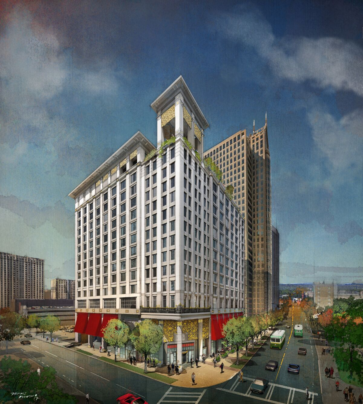Grand bohemian hotel 15 floors 254 rooms boutique for Charlotte nc boutique hotels