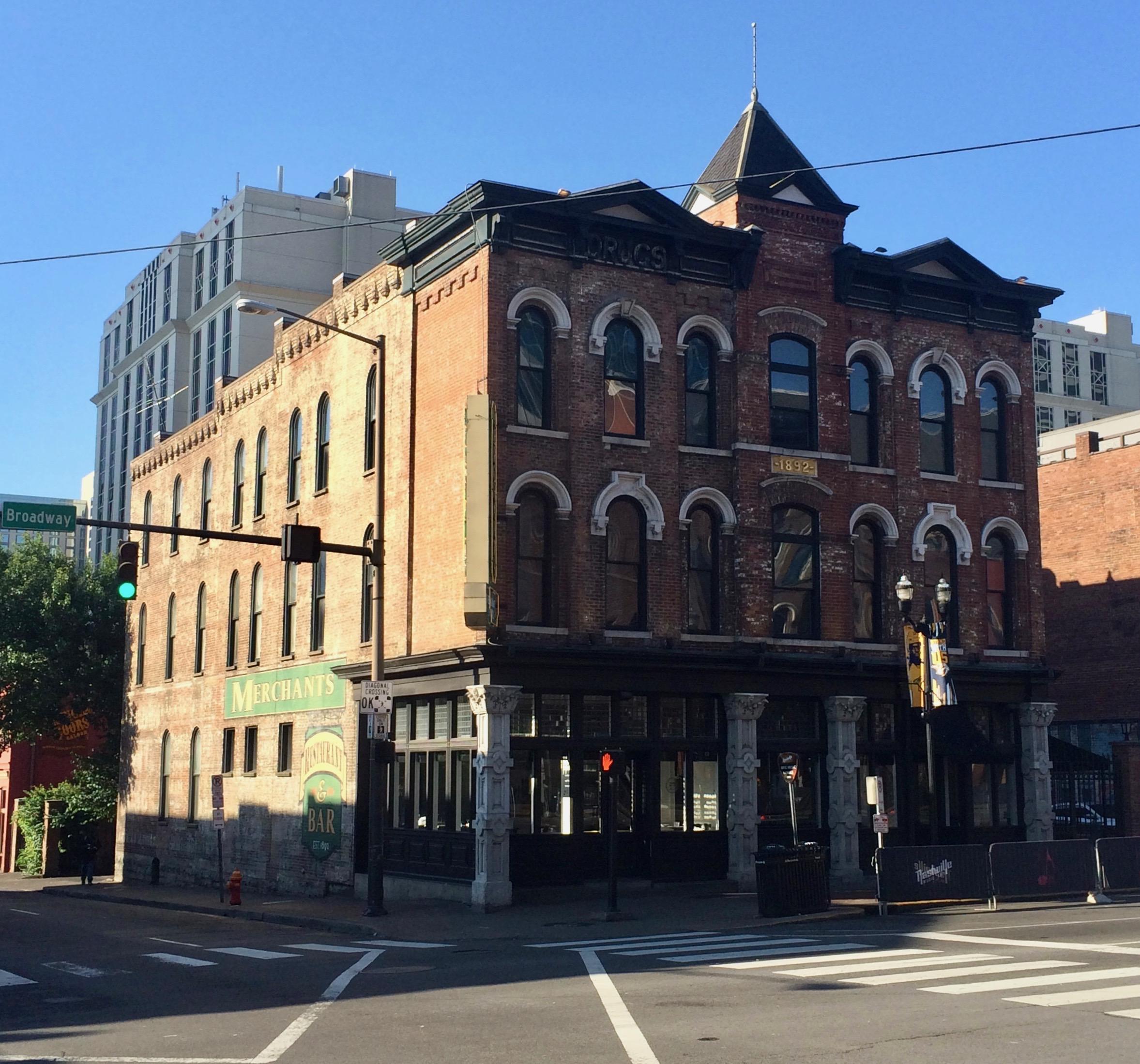 Repurposed/revitalized historical buildings in Nashville
