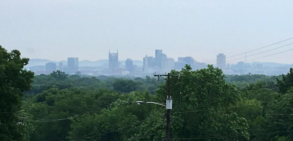 Skyline from Oakwood Park, north side, June 10, 2018.jpg