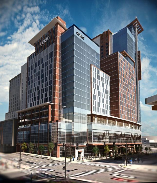 Nashville Architects: Embassy Suites (30 Stories, 500 Rooms), 1 Hotel (18