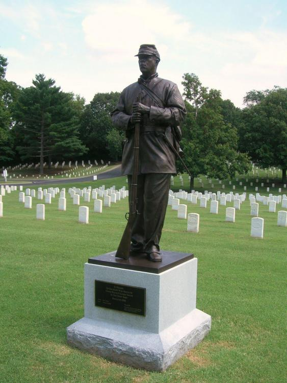 Salute to Colored Troops of Civil War, Nashville National Cemetary.jpg