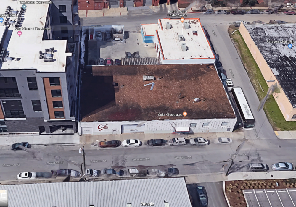 609 Overton, the Gulch, May 16, 2019, site map 1.png