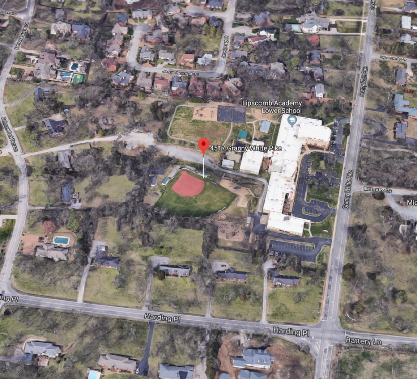 Lipscomb Academy, June 13, 2019, site map .png