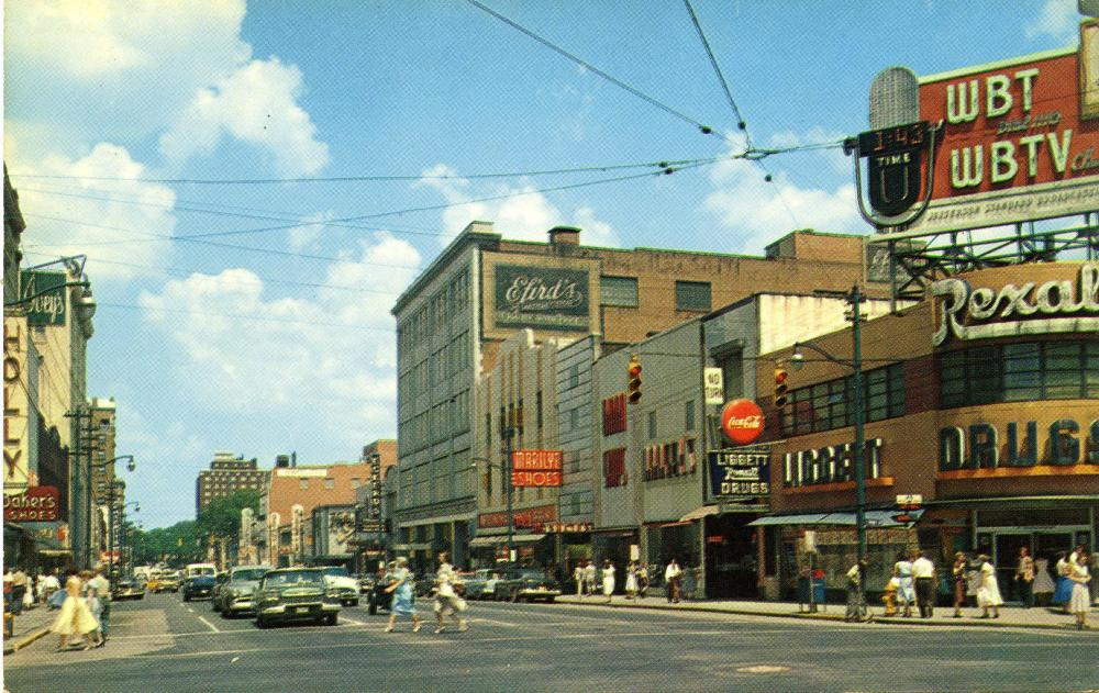 Charlotte Historic Photo Trade-and-Tryon-1955.jpg