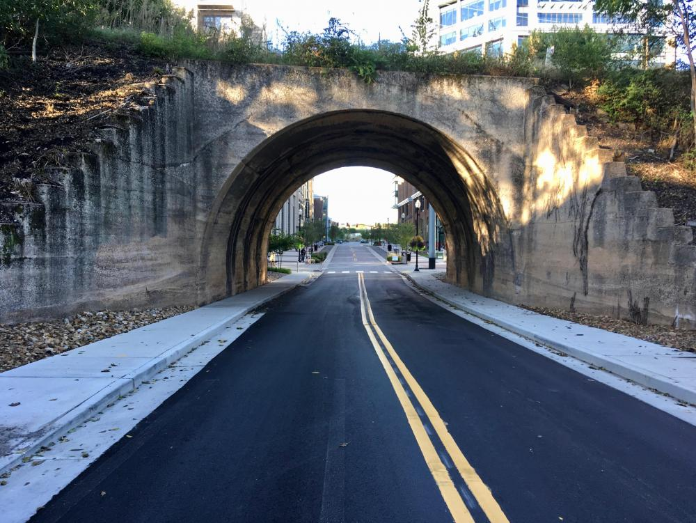 Nelson Merry underpass, Frankie Pierce Park, Capitol View, Oct 12, 2019.jpg
