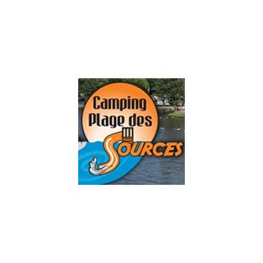 Camping Plage des Sources logo
