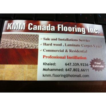 kmm canada flooring inc logo