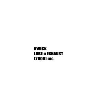 Kwik Lube N Exhaust (2006) Inc. PROFILE.logo