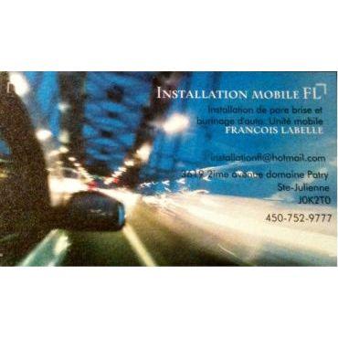 Vitre d'Automobile FL logo