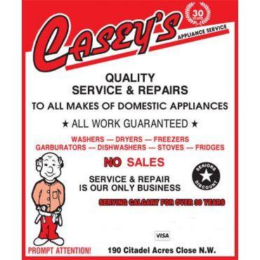Casey's Appliance Service logo