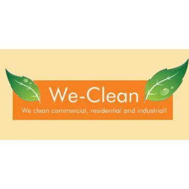 We Clean logo