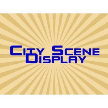 City Scene Display logo