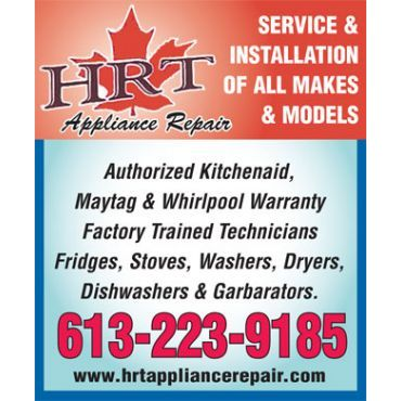 H R T Appliance Repair logo
