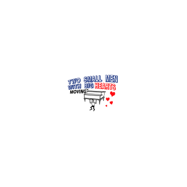 Two Small Men With Big Hearts logo