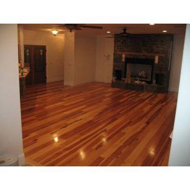 Hardwood floor option