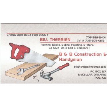 B&B Construction and Handyman PROFILE.logo