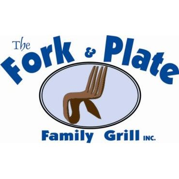 The Fork & Plate Family Grill logo
