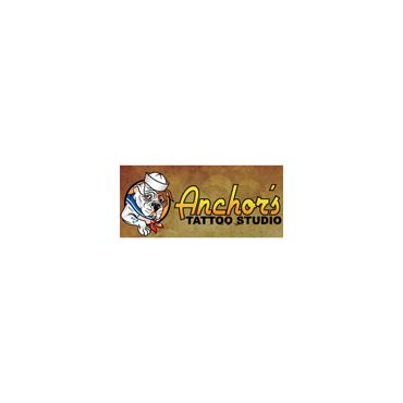Anchor's Tattoo Studio logo