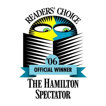Readers Choice winner 2006 and 2011