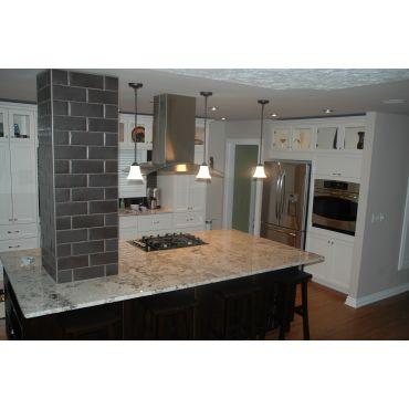 Haysboro removed walls around kitchen