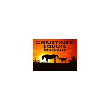 Christine's Equine Massage logo