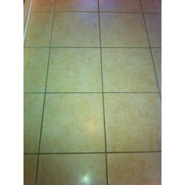 Dirty Grout on Tile Floor