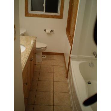 complete bathroom reno