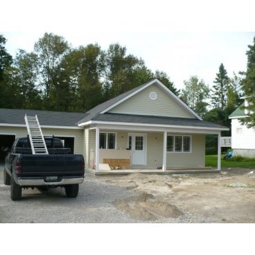 Roof, siding, soffet, fascia and trough