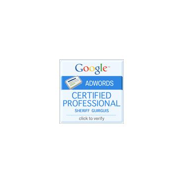 Sheriff Guirguis Google Certification