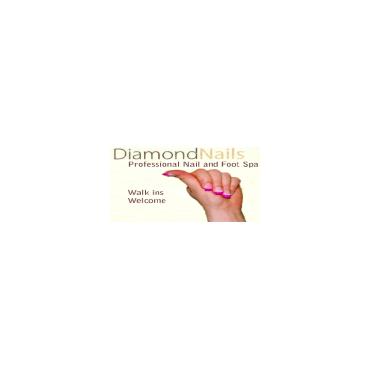 Diamond Nails logo