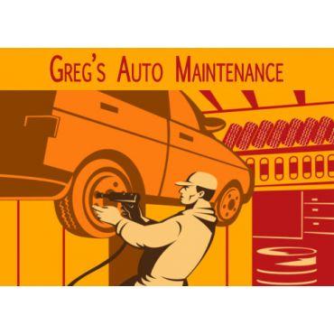 Greg's Auto Maintenance logo