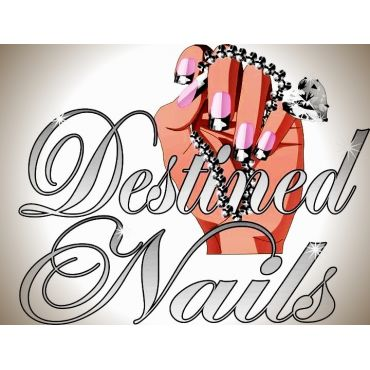 Destined Nails logo
