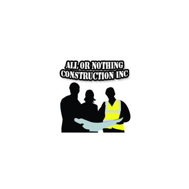 All or Nothing Construction Inc. logo