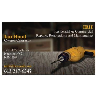 Ian Robert Hood Maintenance & Renovation logo