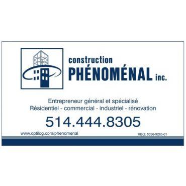 Construction Phénoménal Inc logo