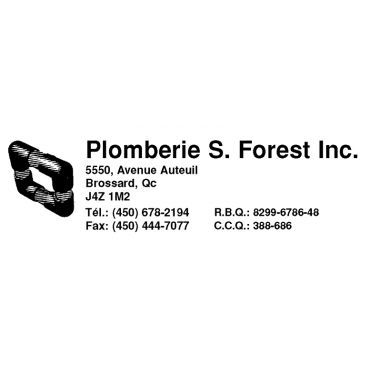 Plomberie S. Forest Inc logo