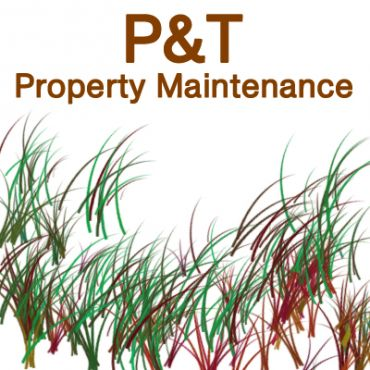 P&T Property Maintenance logo