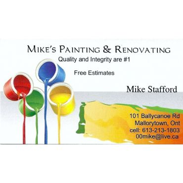 Mike's Painting and Renovating logo