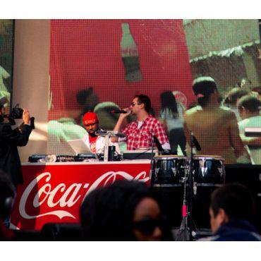 DJing @ Coca Cola's 125th Anniversary