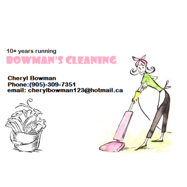 Bowman's Cleaning Service PROFILE.logo