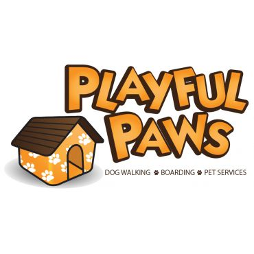 Playful Paws logo