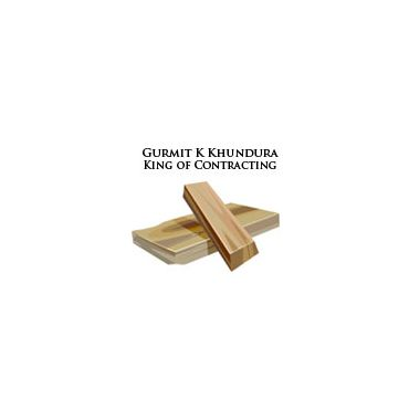 Gurmit K Khundura King of Contracting logo