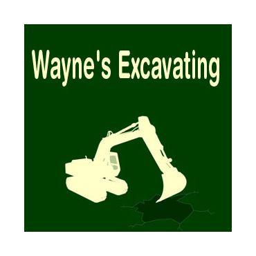 Wayne's Excavating logo