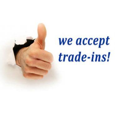 We take trade ins