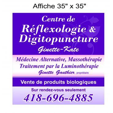 Centre de Réflexologie et Digitopuncture Ginette - logo