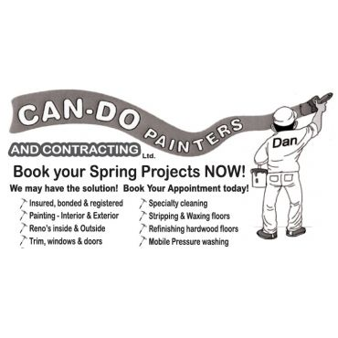 Can-Do Painters and Contracting Ltd PROFILE.logo