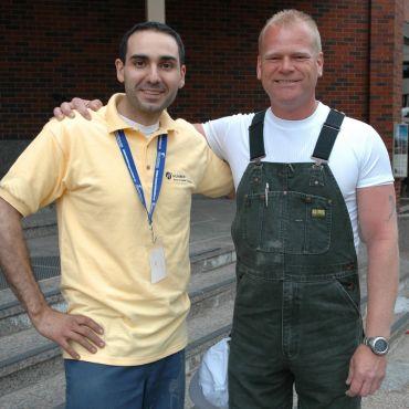 With Mike Holmes, SkillsCanada Halifax
