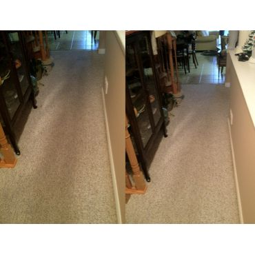 Before & After of a High traffic Hallway