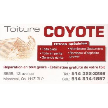 Toiture COYOTE logo