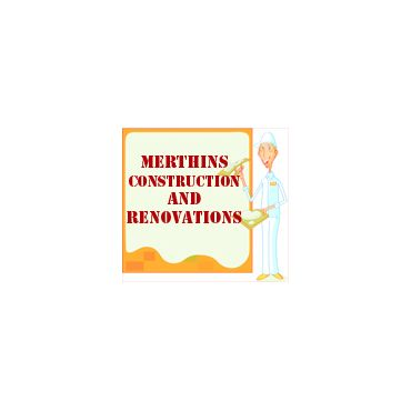 Merthins Construction and Renovations logo